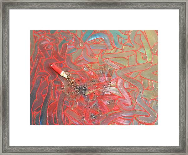 Finger Painting Framed Print