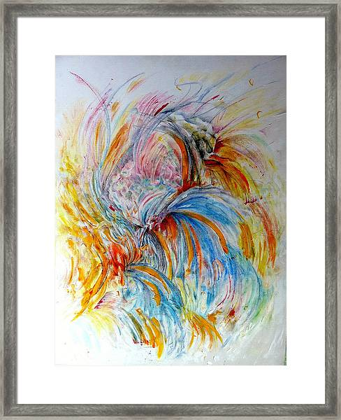 Fingerpainting Framed Print