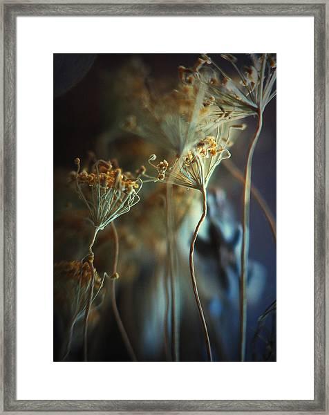 Fingertips... Framed Print