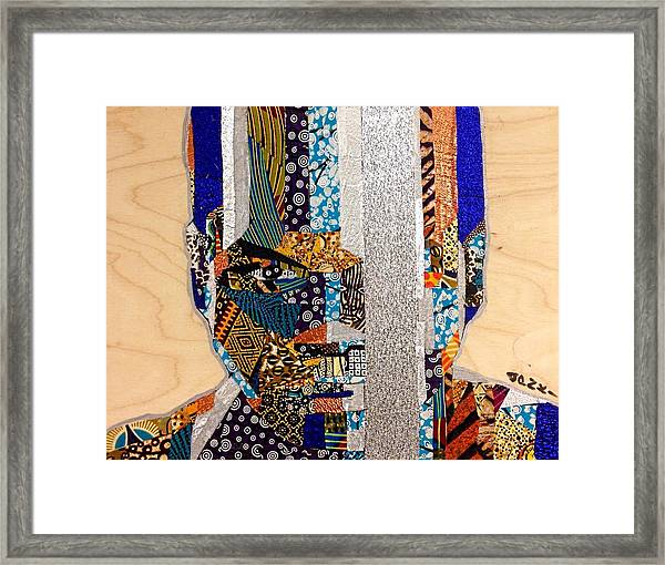 Finn Star Wars Awakens Afrofuturist  Framed Print