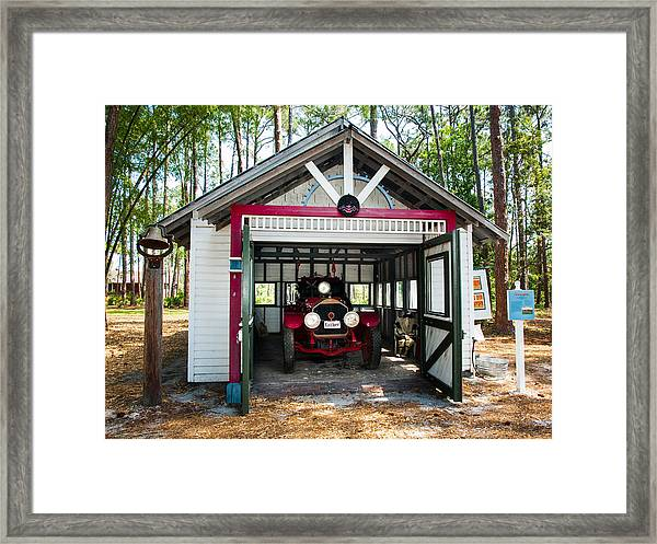 Fire Fire Framed Print