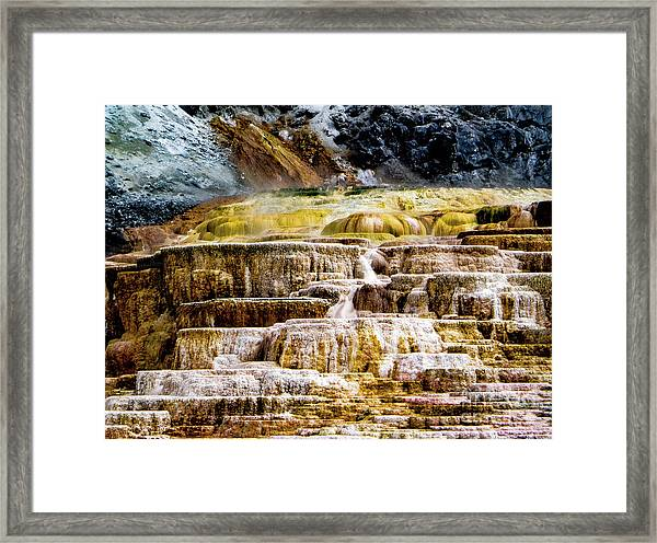 Hot Spring Framed Print