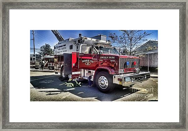Firemen Honor And Sacrifice #1 Framed Print