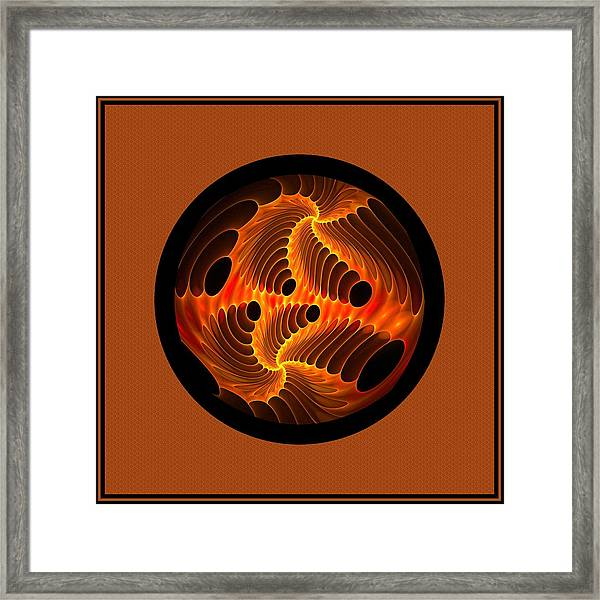 Fires Within Memorial Framed Print