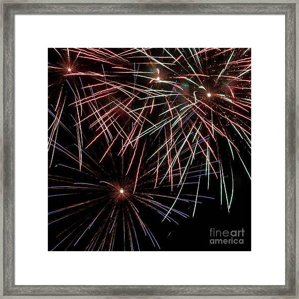 Fireworks 1 Framed Print
