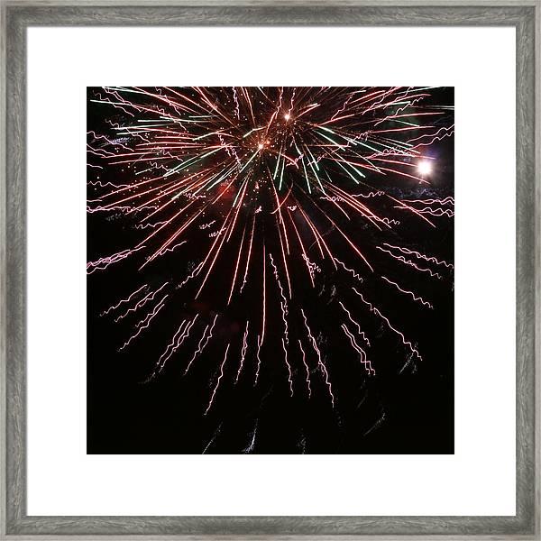 Fireworks 3 Framed Print
