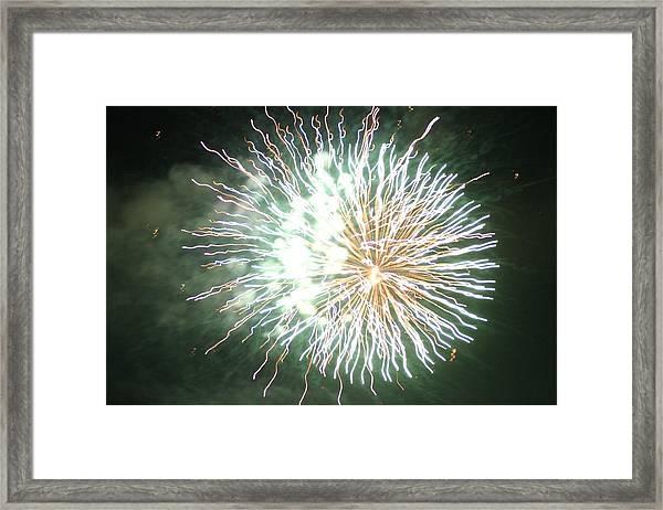 Fireworks In The Park 4 Framed Print
