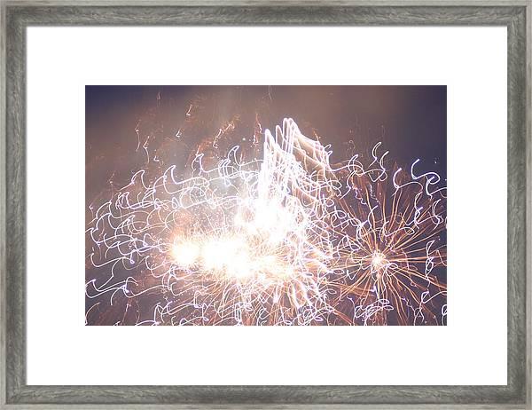 Fireworks In The Park 6 Framed Print