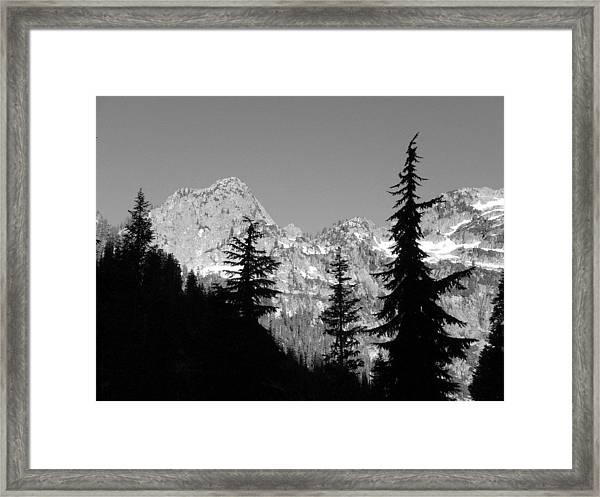 First Break Framed Print by Mark Camp