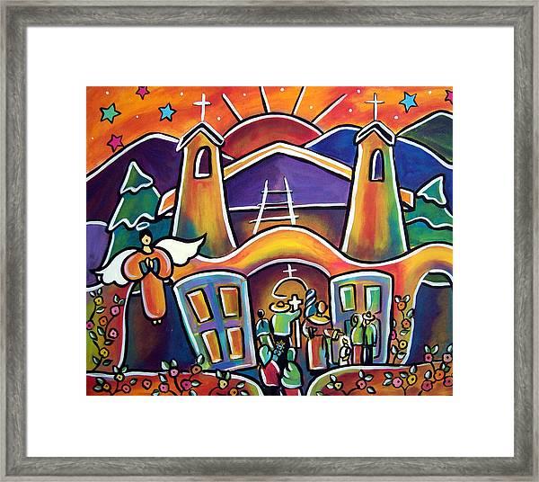 First Communion Framed Print