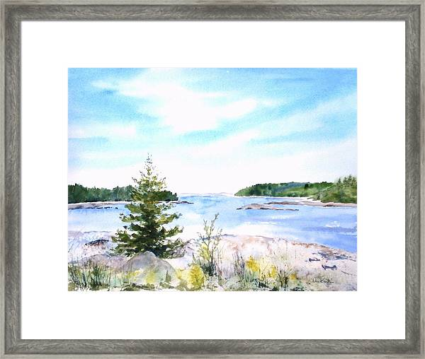 First Impressions, Maine Framed Print
