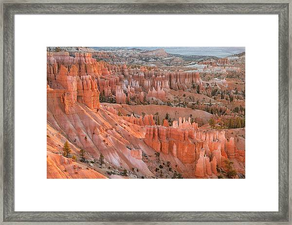 First Light, Bryce Canyon National Park Framed Print