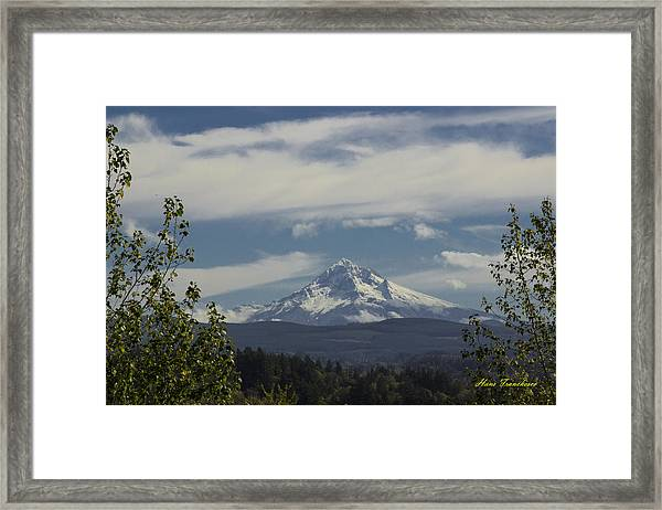First Snow Signed Framed Print