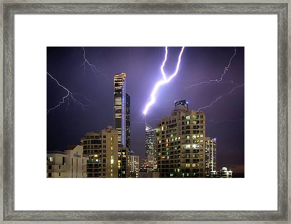 First Strike Framed Print