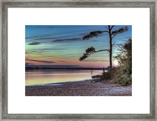 First Sunset Framed Print