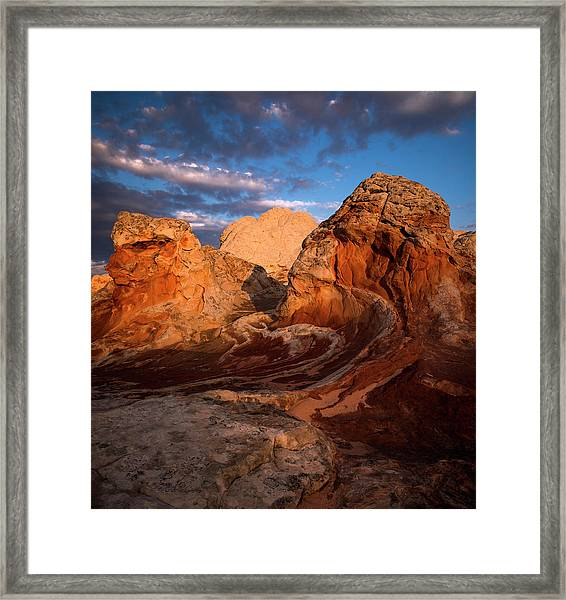 First Touch Framed Print