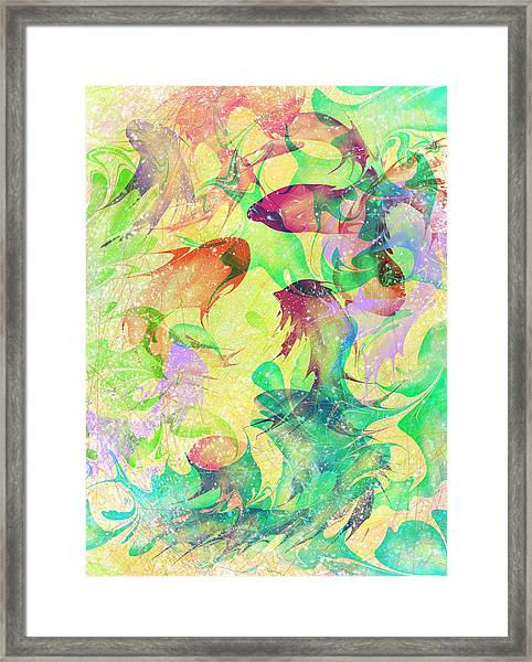 Fish Dreams Framed Print