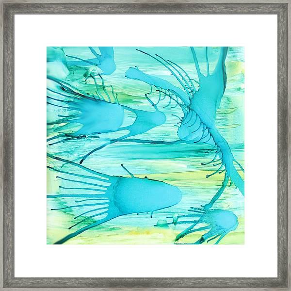 Fish N Shrimp Framed Print