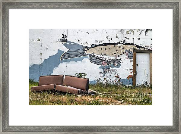 Fish Tales From The Hood Framed Print