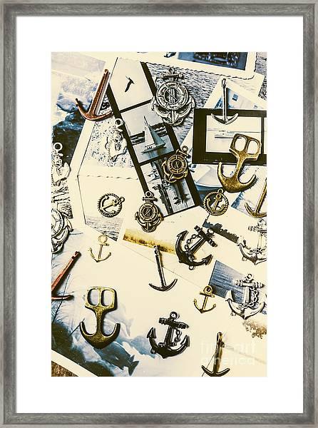 Fishermans Iconography  Framed Print