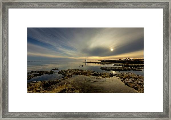 Fisherman's Zen  Framed Print