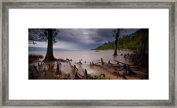 Fisher's Landing  Framed Print