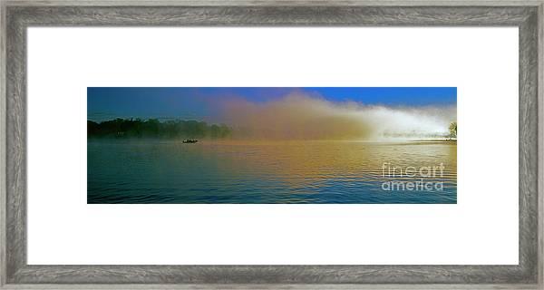 Fishing Boat Day Break  Framed Print