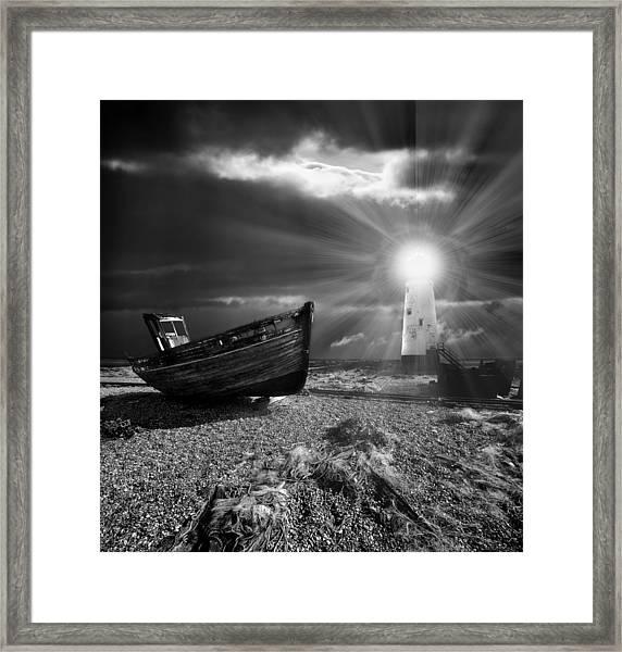 Fishing Boat Graveyard 7 Framed Print