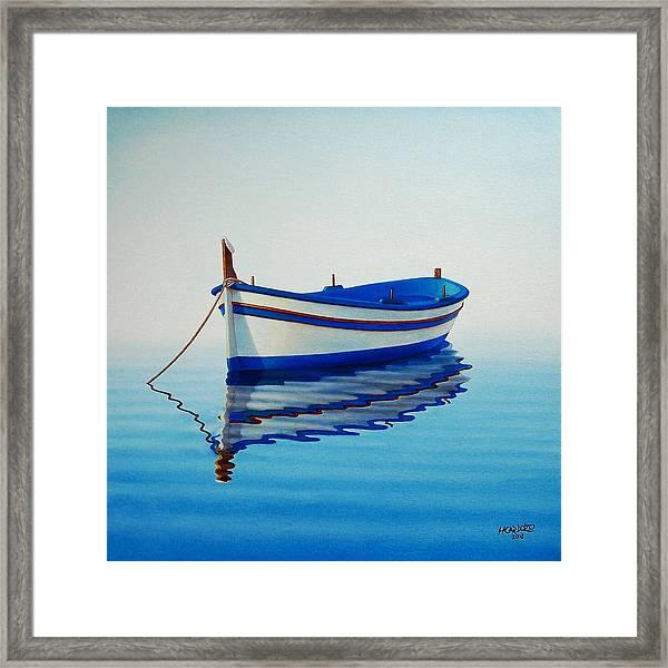Fishing Boat II Framed Print