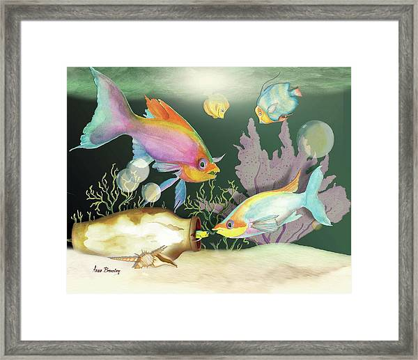 Fishing Expedition Framed Print