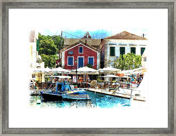 Fiskardo Dreaming Framed Print