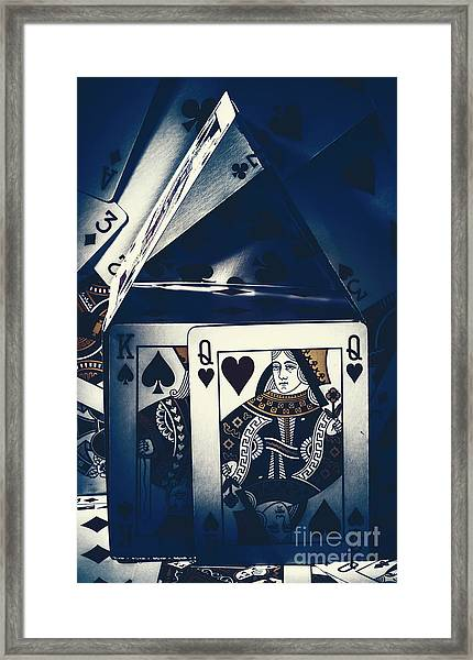 Fit For A King And Queen Framed Print