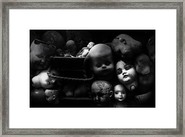 Fixed Gaze Framed Print by Fulvio Pellegrini