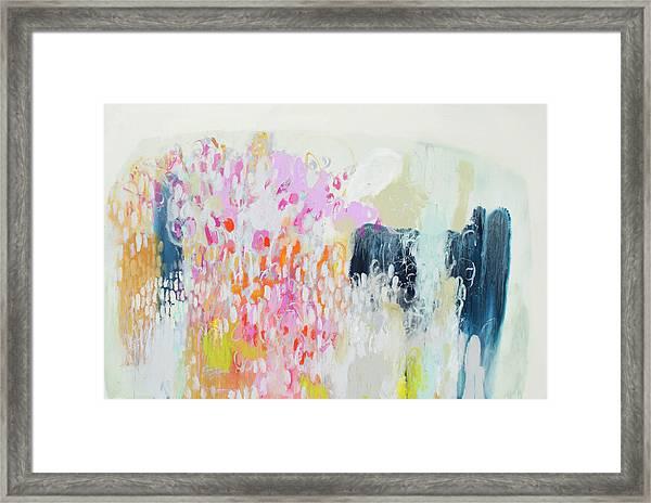 Fizz Framed Print
