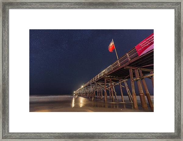 Flagler Beach Framed Print