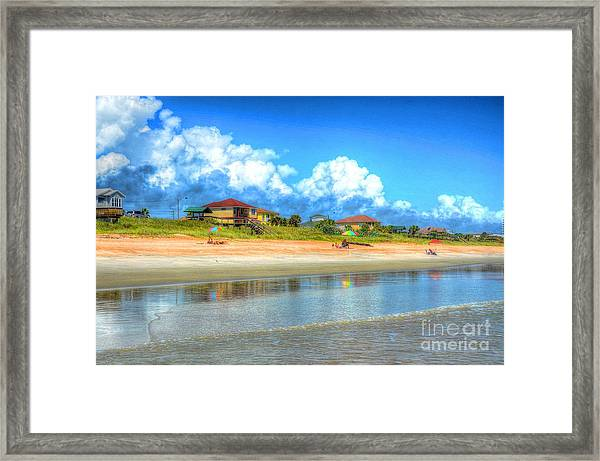 Flagler Beach Morning Framed Print