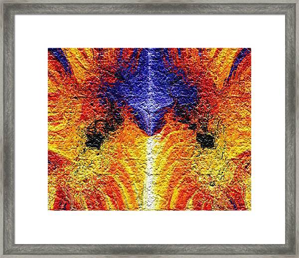 Flames Of Wrath Framed Print