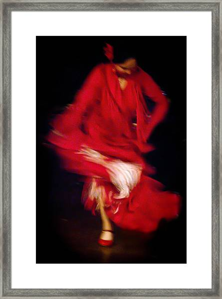 Framed Print featuring the photograph Flamenco Series 32 by Catherine Sobredo