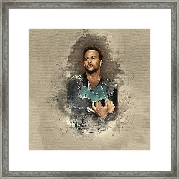Flanery And Jane Framed Print