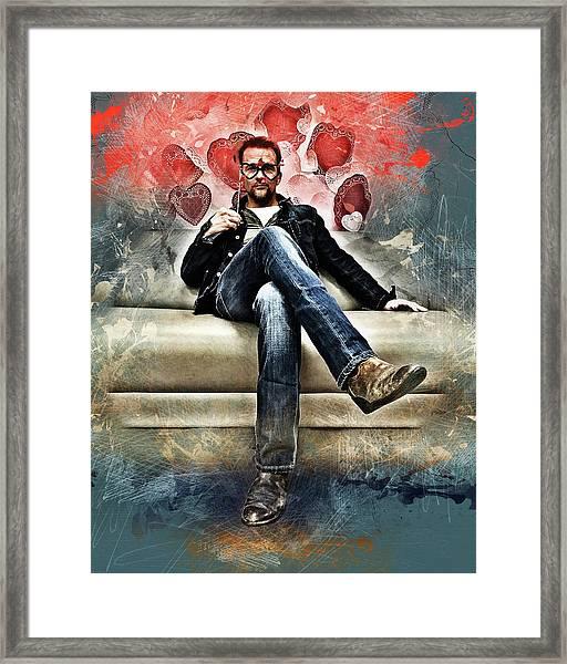 Flanery Valentine Framed Print
