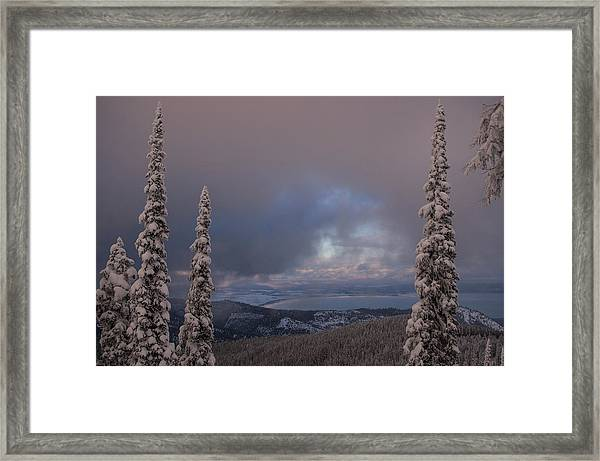 Flathead Winter 2016 Framed Print