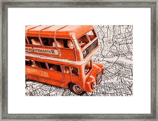 Fleet Street Framed Print