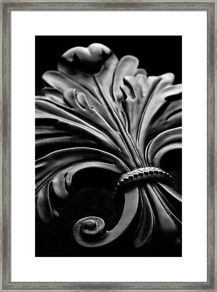 Fleur De Lis II Framed Print