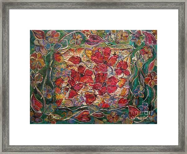 Fleur De Mon Ami Framed Print