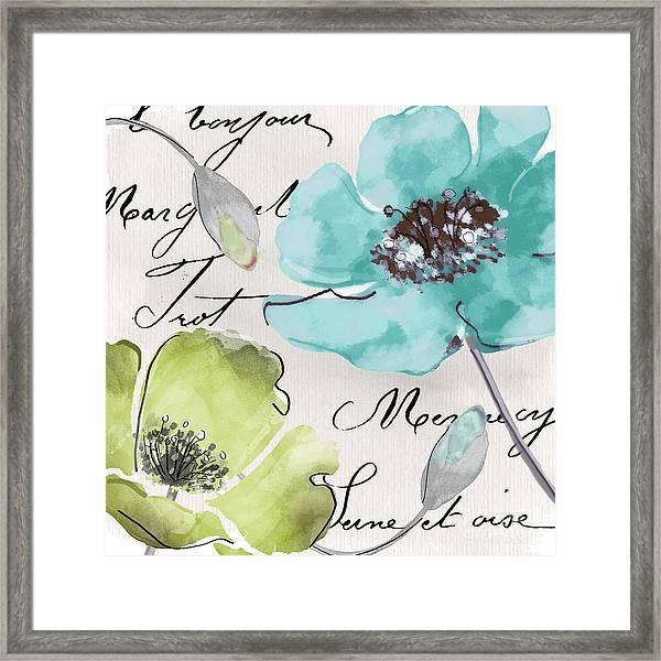 Fleurs De France  Framed Print
