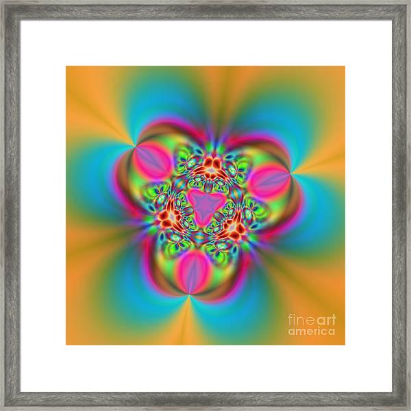 Flexibility 18ba Framed Print