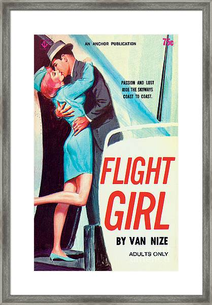 Flight Girl Framed Print