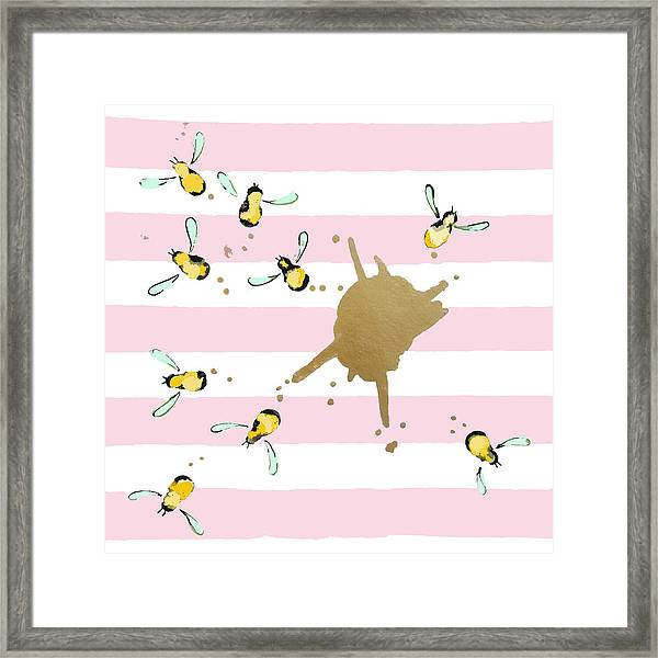 Flight Of The Bumblebeee No 21 Framed Print