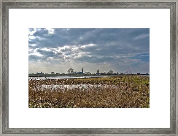 Floodplains Near Culemborg Framed Print