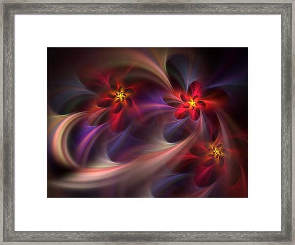 Flora Essence Framed Print